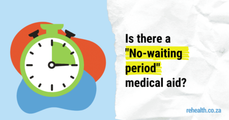 No waiting period for medical aid